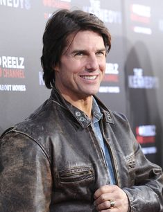 """Tom Cruise Photos Photos - Actor Tom Cruise arrives at The ReelzChannel World premiere of 'The Kennedys' at AMPAS Samuel Goldwyn Theater on March 28, 2011 in Beverly Hills, California. - Premiere Of ReelzChannel's """"The Kennedys"""" - Arrivals"""