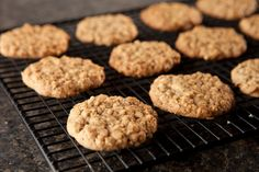 Jazz up traditional oatmeal cookies with a hint of… Black Walnut Oatmeal Cookies; Jazz up traditional oatmeal cookies with a hint of cinnamon and the bold flavor of black walnuts. Walnut Cookie Recipes, Drop Cookie Recipes, Walnut Cookies, Cookie Desserts, Easy Desserts, Delicious Desserts, Dessert Recipes, Oatmeal Walnut Cookie Recipe, Yummy Food
