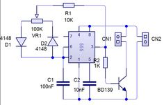 In this week, we are going to make PWM(Pulse Width Modulation) circuit. The reason to make PWM usually for the fan(the brushless one). The PWM circuit will control your motor speed. Electronics Basics, Hobby Electronics, Electronics Components, Electronics Gadgets, Electronics Projects, Dc Circuit, Circuit Diagram, Electronic Circuit Projects, Electronic Engineering
