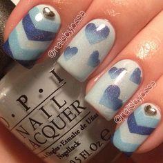 VALENTINE by nailsbyjosse #nail #nails #nailart | See more at www.nailsss.com
