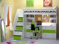 Put your home in back to school mode The IKEA STUVA loft bed with