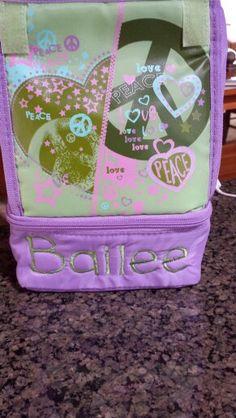 Bailee's lunchbox