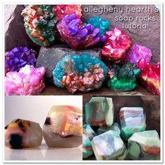 Jewel soaps