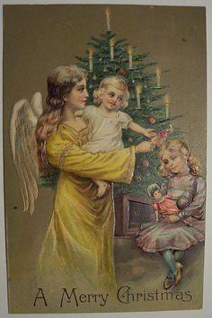 vintage ~ Merry Christmas