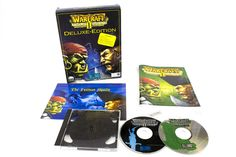 Warcraft II Tides Of Darkness Deluxe Edition for PC by Blizzard, 1995, Strategy