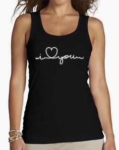 Camiseta Cardiogram (I love you) Blanco
