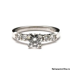 5 stone diamond engagement ring - My Engagement Ring