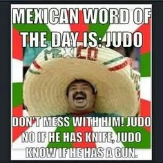 Mexican word of the day: judo