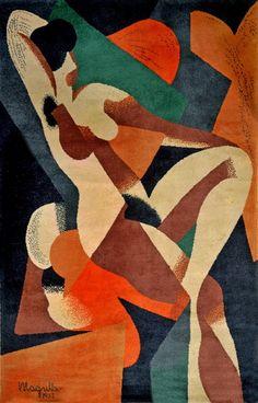 'Femme' - René Magritte - (1923) Rene Magritte  ( 1898 - 1967 ) More At FOSTERGINGER @ Pinterest