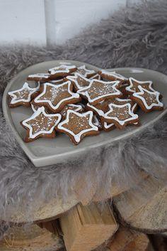 Star Gingerbread Cookies  ~