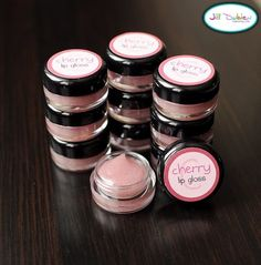 melt coconut oil in your microwave..add red jello powder & mix..pour into containers 4 healthy homemade lip gloss
