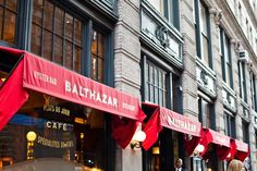 Reason #51: Balthazar Bakery and Restaurant's French iconic eats and décor (tip - look for the playing cards). #newyork
