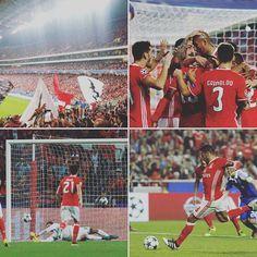 Resultado Final: @slbenfica 1-0 D.Kiev  Este já está, venha o próximo! No BENFICA jogamos sempre para GANHAR. 🔴⚪ VAMOS EMBORA RAPAZIADA!💪❤ #CarregaBenfica #SejaOndeFor #UCL #champions #JUNTOS #AmoTeBenfica #Benfica #benficamcmiv #DinamoKiev #kiyv #VamosBenfica