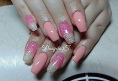 Glitter nails #glitter #nails #shiny #pretty #sparkles