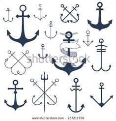 anchor trident cross - Google Search