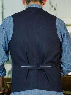Outdoor Vest - Indigo – Rising Sun Jeans