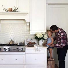 Kitchen look all white