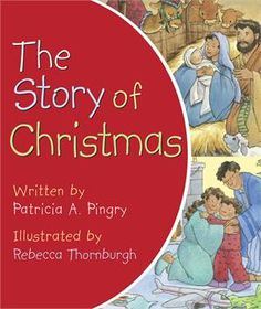 This little book tells the story of Christmas from Mary and Joseph's journey to Bethlehem to Jesus' birth in a stable. Parents can use this little board book to introduce Jesus to very young children through simple words and pictures.