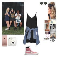 """meeting fans with gf Halsey"" by cc-quinn ❤ liked on Polyvore featuring Ray-Ban, Topshop, River Island, Madewell and IaM by Ileana Makri"