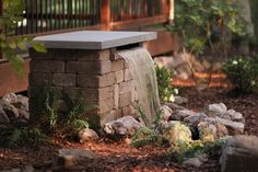 Your neighbors won't believe you built this gorgeous backyard water feature yourself.