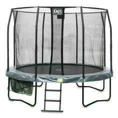 EXIT JumpArena trampoline All-In-One rond - 244 cm - groen