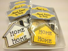 New House Cookies | ... around with a house cookie cutter and creating a new realtor cookie