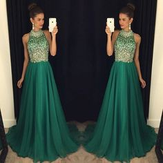 Beautiful Prom Dress, green prom dresses chiffon evening gowns modest formal dresses beaded prom dresses new fashion evening gown cheap evening dress beading evening gowns Meet Dresses Modest Formal Dresses, Elegant Bridesmaid Dresses, Prom Dresses 2018, Long Prom Gowns, Backless Prom Dresses, Dress Long, Party Dresses, Dresses 2016, Prom Long