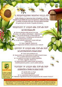 Appuntamento con  la Domus Bio Sarda il 17 - 18 - 19 Luglio 2013 con '' Il meraviglioso mondo delle api'', un atelier didattico in 3 giorni, per dare ai bambini e alle loro famiglie la possibilità di vivere un'esperienza indimenticabile a contatto col mondo delle api e dei meravigliosi prodotti che questo piccolo insetto è in grado di donarci. #Cagliari #BioCagliari #CagliariSolidale