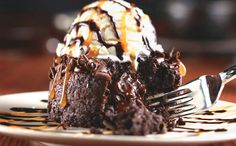 Red Lobster Chocolate Lava Cake