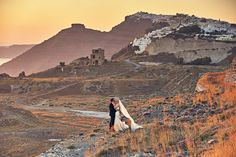 As a destination wedding photographer Santorini has always been high on my list of places to visit and this wedding did not disappoint! Couple Shots, Santorini Wedding, Destination Wedding Photographer, Wedding Couples, Elegant Wedding, Monument Valley, Grand Canyon, Places To Visit, Greek