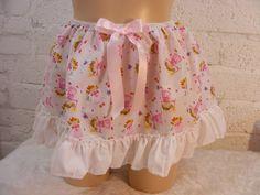 "SISSY ADULT BABY FANCY DRESS BLACK ORGANZA MICRO MINI SKIRT 11/""LONG COSPLAY"