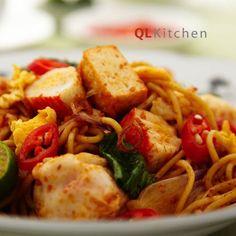 Resepi Mee Goreng Mamak dengan Makanan Laut