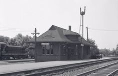CLARKSON , Ontario - Grand Trunk - Canadian National Railway station - Mississauga Ontario