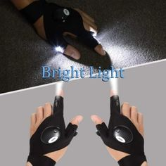 LED Gloves with Waterproof Lights Led Gloves, Classic Campers, Jeep Wrangler Accessories, Cool Gadgets To Buy, Diy Home Repair, Cool Inventions, Cool Tools, Handy Tools, Man Birthday