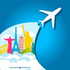 Viagens ao redor do mundo