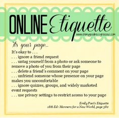 """This to-the-point post on Oh My Goodness Gracious' blog called """"It's My Prerogative"""", teaches us that although we are taught to have impeccable netiquette, we do not have to feel guilty every time we don't want to follow someone or like their post. Everyone has the right to mould their experience on social media to be exactly what they want it to be! This is what builds your true online image and personality."""