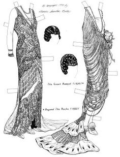 GLORIA SWANSON was probably the most glamorous movie star of the silent era, certainly one of the best dressed. Her movie plots may have not been much, but audiences flocked in every week just to see what Gloria would be wearing! 2 of 4
