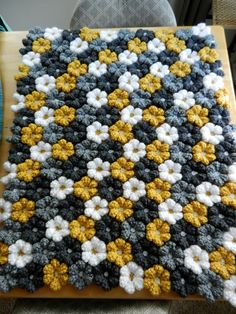 Ravelry: cassiabu's Flower Blanket