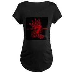 Dark Maternity T-Shirt available online at www.cafepress.com/lucky7tattooandpiercing