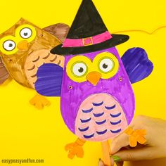 Print our template and make your very own movable owl paper doll. What a hoot! Glue it onto a craft stick, add some string (we'll show you exactly how it's done) and you'll be flapping those wings in no time. *this post contains affiliate links* Owls sure are wonderful creatures, and a great crafting theme …