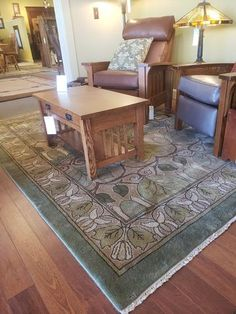Guildcraft Carpets ~ Magnolia Fall on display at Modern Bungalow in Denver, CO.