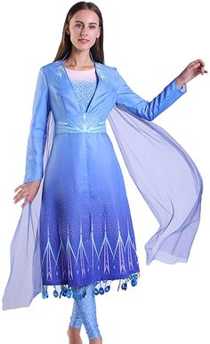 Fancy Dress Costume ~ Wizard Of Oz Sequin Dorothy Costume Ages 3-10 Years