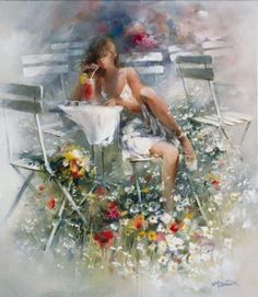 Watercolor Paintings by Willem Haenraets