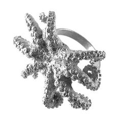 Octopus Ring Sterling now featured on Fab.  FUN!