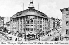 """Union """"Vereinigte Kaufstätten G.m.b.H. Berlin, Brunnen- Ecke Veteranenstraße"""