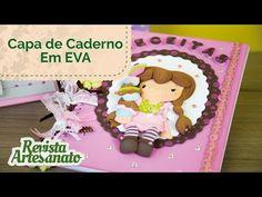 Capa de Caderno em EVA 3D - Passo a Passo - YouTube