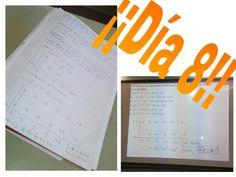 Día 8: Hoy nos pusimos en nuestros grupos de expertos (1,2,3) realizamos un ejercicio de multiplicación de polinomios del experto 2 y luego nuestro profesor Sergio,nos enseñó como se realizaban los ejercicios del experto 3 (consistía en división de polinomios y finalmente realizamos dos o tres ejercicios de estos en la pizarra.