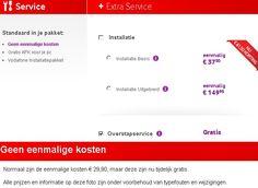 Vodafone heeft 2 opties voor de installatie van uw abonnement, wij bespreken graag met u welke optie het beste bij uw wensen past.