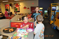 Chucky Cheese ~Meadow's 6th Birthday Party