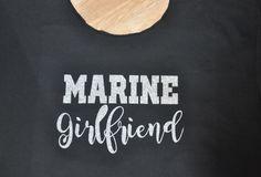 Glitter Sweatshirt, Glitter Design on Slouch Shoulder Sweatshirt, Marine Girlfriend, Wife Sweatshirt, Army, Navy Sweatshirt, Slouch Neck by ChezWhimsy2 on Etsy